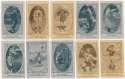 1922 E120  23 different w/Southworth & Grimm VG mk