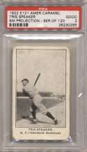 1922 E121 Series 120 111.2 Tris Speaker (small projection) PSA 12