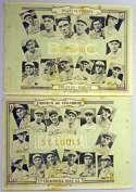 1924 Tomas Gutierrez  St. Louis Cardinals Team Set (2 sheets) VG-Ex
