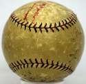 1924 Giants  Team Ball 5