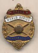 1927 Press Pin  Yankees World Series Ex-Mt