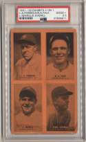 1931 Exhibit 5 Averill, Falk, Fonseca, LSewell PSA 2.5