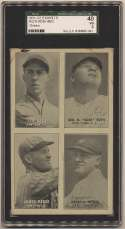 1931 Exhibit  Ruth/Gehrig/Reese/Lary SGC 3