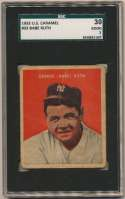 1932 U.S. Caramel 32 Babe Ruth SGC 2