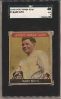 1933 Sport King 2 Babe Ruth SGC 3