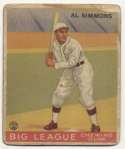 1933 Goudey 35 Simmons GVG