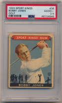 1933 Sport King 38 Bobby Jones PSA 2.5