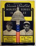 1933 WSP  At Washington GVG