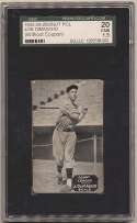 1933 Zeenut  Joe DiMaggio (throwing) SGC 1.5