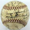 1934 Cubs  Team Ball 8