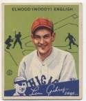 1934 Goudey 4 English VG