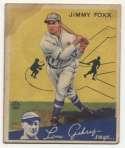 1934 Goudey 1 Foxx Good