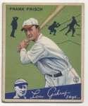 1934 Goudey 13 Frisch VG+