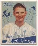 1934 Goudey 26 Walker VG