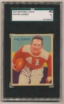 1935 National Chicle 14 Sorboe SGC 3