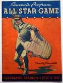 1935 Program  All Star Game VG-Ex