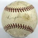 1934 Giants  Team Ball 5 JSA LOA (FULL)
