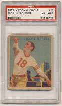 1935 National Chicle 23 Feathers PSA 4