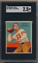 1935 National Chicle 36 Masterson SGC 2.5