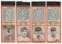 1936 Diamond Matchbook Cubs  Complete Set (red) Ex-Mt