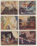 1938 Action Gum  Collection of 107 Cards Good
