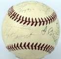 1938 Cubs  Team Ball w/Dean & Lazzeri 7.5 JSA LOA (FULL)