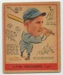 1938 Goudey 277 Greenberg VG+