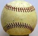 1938 Yankees  Team Ball w/real Gehrig 6