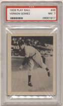 1939 Play Ball 48 Gomez PSA 7