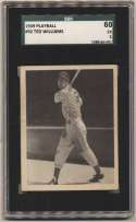 1939 Play Ball 92 Ted Williams RC SGC 5 (ctd)