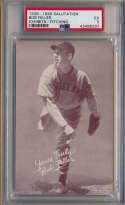 1939 Salutation Exhibit 16 Feller Pitching PSA 5