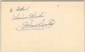 3 x 5  Santos, Wes (1950s track star) 9.5 (vintage) JSA LOA