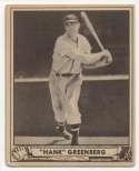 1940 Play Ball 40 Greenberg VG