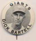 1940 PM10 Pin  Dick Bartell NM