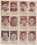 1941 Double Play  Lot of 14 different w/Ott GVG/VG