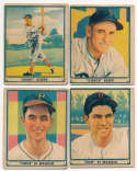 1941 Play Ball  Complete Set -8 Cards Good