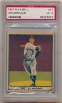 1941 Play Ball 71 Joe DiMaggio PSA 5 (ctd)