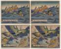 1941 War Gum  Collection of 118 Cards w/35 high #s Good