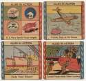 1942 Allies in Action  Collection of 60 cards Good - GVG