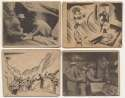 1942 Samuel Eppy Adventures of Smilin Jack  Collection of 87 assorted cards Good