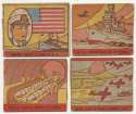 1942 R168 War Scenes  Collection of 23 different  GVG