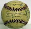 1944 Red Sox  Team Ball 9