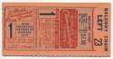 1944 Ticket  World Series Game 1 Ex-Mt+
