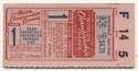 1944 Ticket  World Series Game 1 VG-Ex/Ex