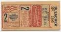 1944 Ticket  World Series Game 2 VG-Ex/Ex