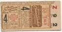 1944 Ticket  World Series Game 4 VG-Ex/Ex