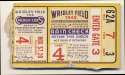 1945 Ticket  World Series Game 4 - Billy Goat Game! Good