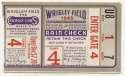 1945 Ticket  World Series Game 4 - Billy Goat Game! VG
