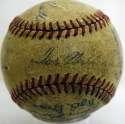1946 Red Sox  Team Ball 5