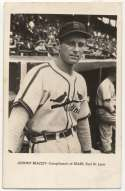 1946 Sears St. Louis Browns  Beazley VG+